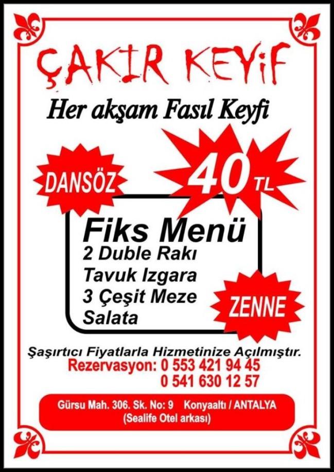 Çakır Keyif Restaurant- Mine Yıldız- Antalya TV011