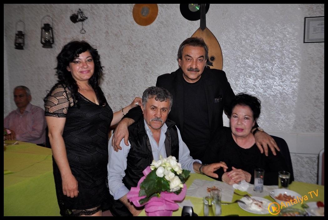 Antalya Magazin Muhabiri Fırtına Rüya Kürümoğlu Doğum Günü- Hayal Sirer- Necip Nugay(2)