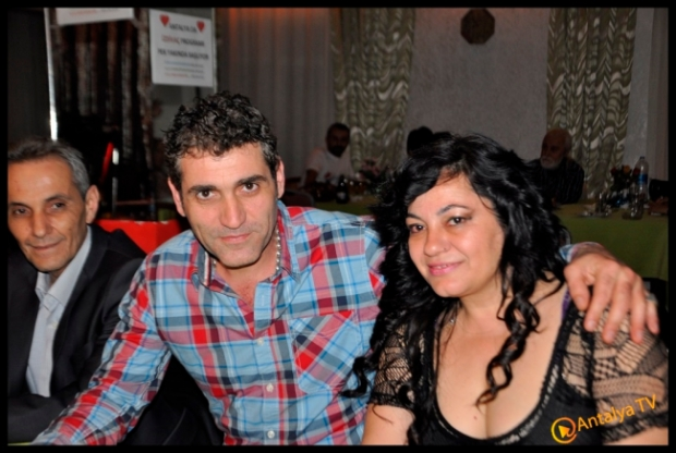 Antalya Magazin Muhabiri Fırtına Rüya Kürümoğlu Doğum Günü- Mira Alaturka- Behnan Suat Zor