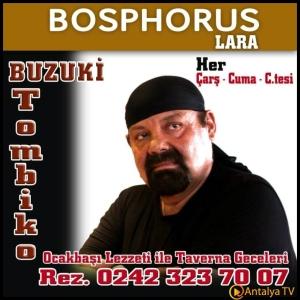 Bosphorus Lara Ocakbaşı Restaurant- Murat Çiçek- Muhabir Rüya Kürümoğlu- Antalya TV,2