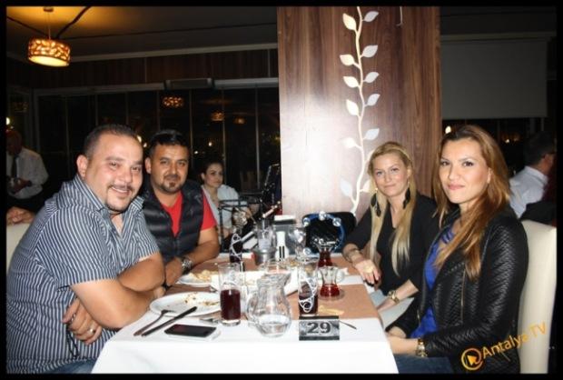 Bosphorus Lara Ocakbaşı Restaurant- Murat Çiçek- Muhabir Rüya Kürümoğlu- Antalya TV,3