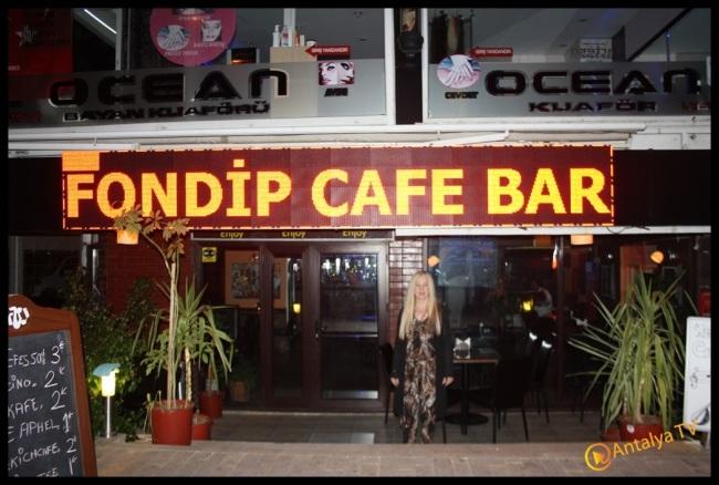 Fondip Cafe Bar- Antalya Tv- Antalya Magazin Muhabiri Rüya Kürümoğlu27