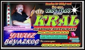 Kral Ocakbaşı Restaurant- Yavuz Beyazkoç- Antalya TV- Magazin Muhabiri Rüya Kürümoğlu06
