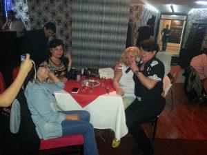 Rüya Kürümoğlu- Nihal Ela Doğan- Emine Ay- Erdal İçli- 8. Kat Restaurant