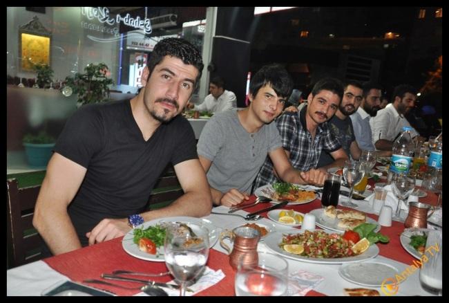 Eshab-ı Keyf Restaurant- Veysi  Akan- Ülkü Ocakları Eğitim Kültür Vakfı Antalya İl Başkanı Emrah Taşkın (1)