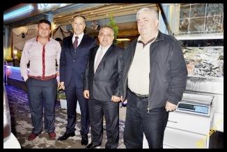 Gagavuzya Cumhurbaşkanı Konyaltı Balıkçısında...