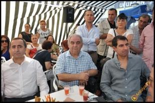 Talya Cafe Bistro- Nuri Alço, Fidan İlteray, Antalya TV, Muhabir Rüya Kürümoğlu (107)