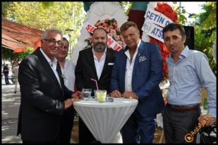 Talya Cafe Bistro- Nuri Alço, Fidan İlteray, Antalya TV, Muhabir Rüya Kürümoğlu (11)