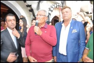 Talya Cafe Bistro- Nuri Alço, Fidan İlteray, Antalya TV, Muhabir Rüya Kürümoğlu (132)