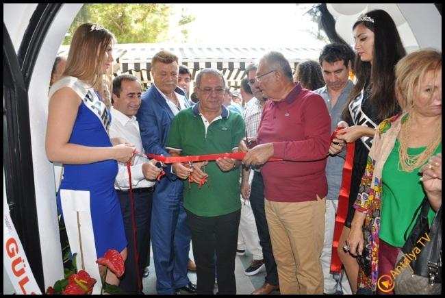 Talya Cafe Bistro- Nuri Alço, Fidan İlteray, Antalya TV, Muhabir Rüya Kürümoğlu  (148)