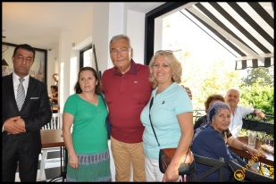 Talya Cafe Bistro- Nuri Alço, Fidan İlteray, Antalya TV, Muhabir Rüya Kürümoğlu (179)