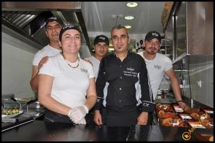 Talya Cafe Bistro- Nuri Alço, Fidan İlteray, Antalya TV, Muhabir Rüya Kürümoğlu (181)