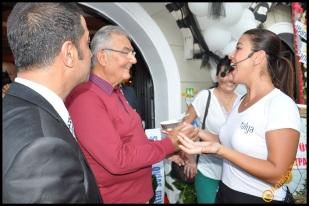 Talya Cafe Bistro- Nuri Alço, Fidan İlteray, Antalya TV, Muhabir Rüya Kürümoğlu (186)