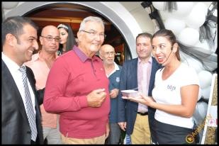 Talya Cafe Bistro- Nuri Alço, Fidan İlteray, Antalya TV, Muhabir Rüya Kürümoğlu (188)