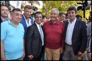 Talya Cafe Bistro- Nuri Alço, Fidan İlteray, Antalya TV, Muhabir Rüya Kürümoğlu (197)