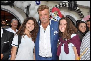 Talya Cafe Bistro- Nuri Alço, Fidan İlteray, Antalya TV, Muhabir Rüya Kürümoğlu (202)