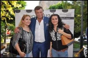 Talya Cafe Bistro- Nuri Alço, Fidan İlteray, Antalya TV, Muhabir Rüya Kürümoğlu (203)