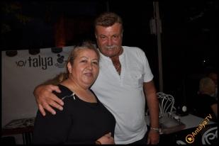 Talya Cafe Bistro- Nuri Alço, Fidan İlteray, Antalya TV, Muhabir Rüya Kürümoğlu (222)