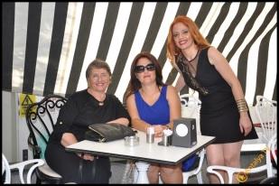 Talya Cafe Bistro- Nuri Alço, Fidan İlteray, Antalya TV, Muhabir Rüya Kürümoğlu (23)