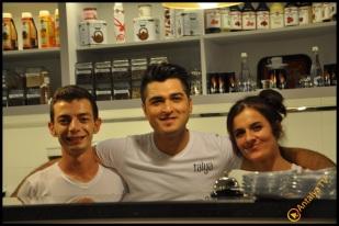 Talya Cafe Bistro- Nuri Alço, Fidan İlteray, Antalya TV, Muhabir Rüya Kürümoğlu (231)