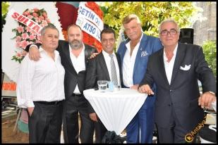 Talya Cafe Bistro- Nuri Alço, Fidan İlteray, Antalya TV, Muhabir Rüya Kürümoğlu (25)