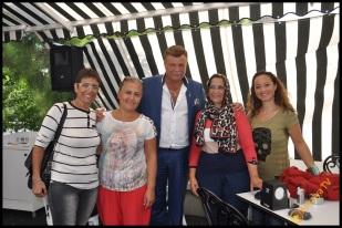 Talya Cafe Bistro- Nuri Alço, Fidan İlteray, Antalya TV, Muhabir Rüya Kürümoğlu (308)