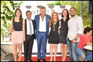 Talya Cafe Bistro- Nuri Alço, Fidan İlteray, Antalya TV, Muhabir Rüya Kürümoğlu (39)
