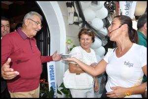 Talya Cafe Bistro- Nuri Alço, Fidan İlteray, Antalya TV, Muhabir Rüya Kürümoğlu (48)