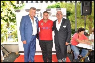 Talya Cafe Bistro- Nuri Alço, Fidan İlteray, Antalya TV, Muhabir Rüya Kürümoğlu (65)