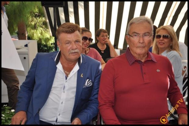 Talya Cafe Bistro- Nuri Alço, Fidan İlteray, Antalya TV, Muhabir Rüya Kürümoğlu  (78)