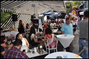 Talya Cafe Bistro- Nuri Alço, Fidan İlteray, Antalya TV, Muhabir Rüya Kürümoğlu (8)