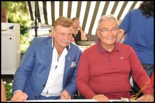 Talya Cafe Bistro- Nuri Alço, Fidan İlteray, Antalya TV, Muhabir Rüya Kürümoğlu (83)