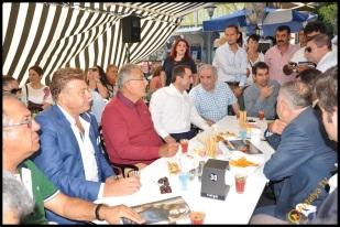 Talya Cafe Bistro- Nuri Alço, Fidan İlteray, Antalya TV, Muhabir Rüya Kürümoğlu (98)