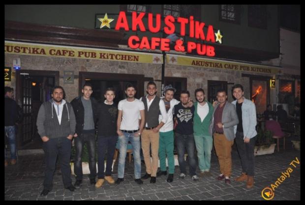 Akustika Cafe Pub- Erkan Keçeli- Ufuk Özbek