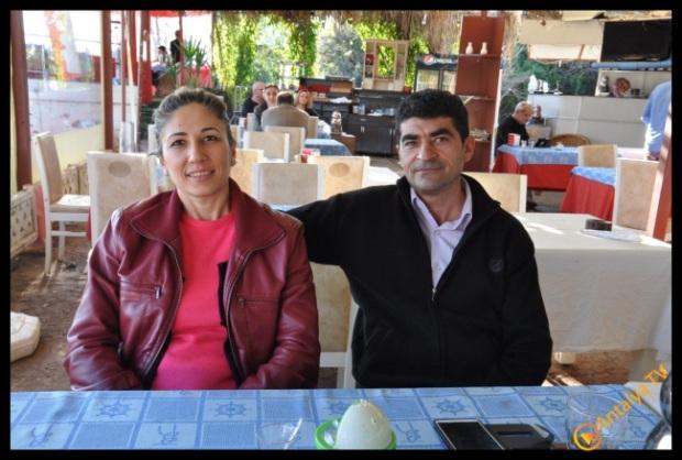 Merkez Parti Muratpaşa İlçe Başkanı Dilek - Önder Özbek, Efsane Köy Kahvaltısı Fasıl Restaurant'da Kahvaltı Keyfinde