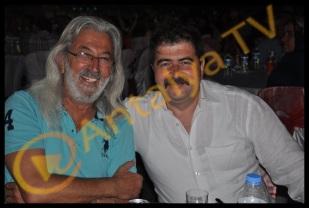 Kemer Belediye Başkanı Mustafa Gül ve Neşe Gül Düğününde Recep Güler ( MİLOŞ ) ve Deniz Akgün