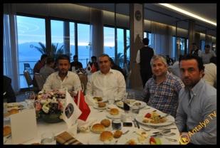 Antalya İşadamları Derneği (ANTİAD), Hikmet Çetin'i konuk etti