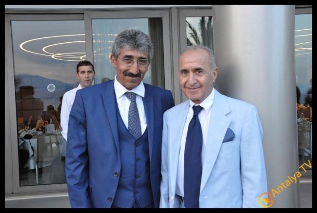 Antalya İşadamları Derneği  Hikmet Çetin ve Ali Güvençoğlu
