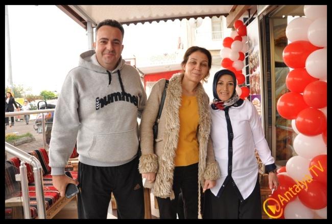 Nar Çiçeği Unlu Mamülleri Kepez'de Açıldı.