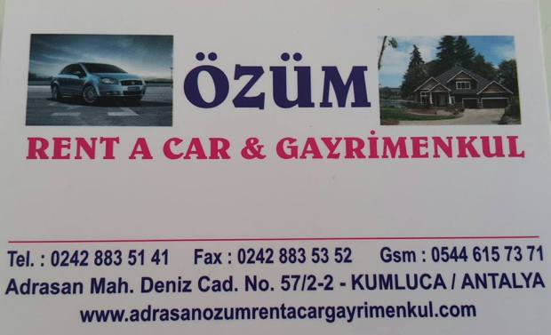 adrasan rent a car adrasan olimpos çıralı araç kiralama özüm rent a car emlak (19)