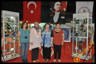 Antalya Azize Kahraman Halk Eğitim merkezi Yıl Sonu Sergisi