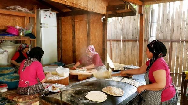 cakirlar koy kahvaltisi antalya kahvalti mekanlari sedir gozleme (14)
