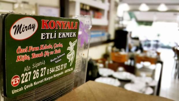 Uncalı Yemek Sipariş 0242 227 2627 -  Miray Konyalı Etli Ekmek Antalya Etli Ekmek Paket Servis (1)