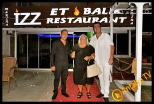 İzz Et Balık Restaurant'ta Leyla Ertaş