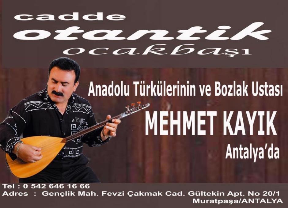 Bozlak'ın Ustası Mehmet Kayık Cadde Otantik Ocakbaşında...
