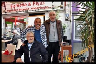 Kaleiçinde Doğanlar ve Kaleiçini Sevenler Grubu Piyazcı Mustafa'da- Serap Teke Sözer - Suat Turgut