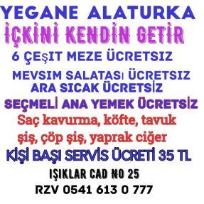 Yegane meyhane 0541 613 0 777