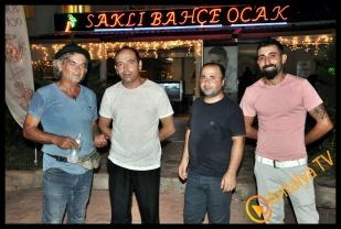 İkinci Bahara Merhaba Gurubu, Saklıbahçe Ocakbaşı ve Kral Hamlet Cafe Bar'da bir araya geldiler.